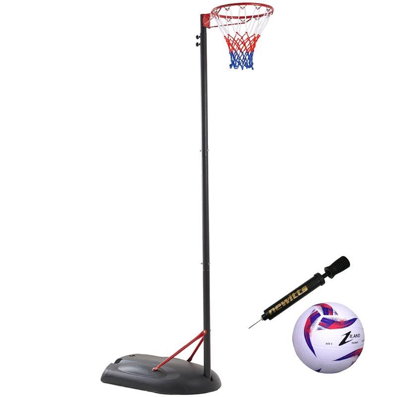 Netball Post and Ball Set