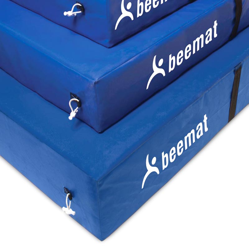 Beemat Safety Mattress Blue
