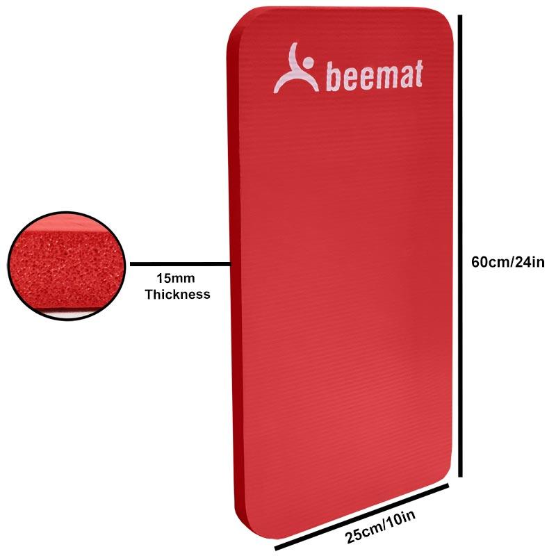 Beemat Mini Premium Exercise Mat 0.6m
