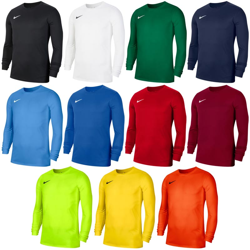 Nike Park VII Long Sleeve Junior Football Jersey