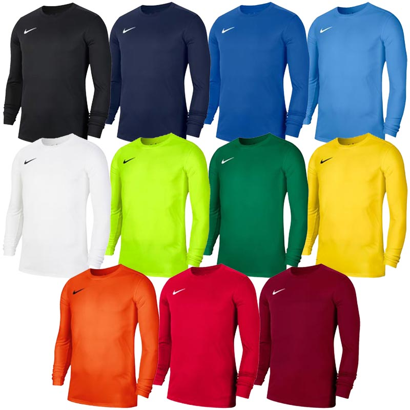 Nike Park VII Long Sleeve Junior Football Jersey