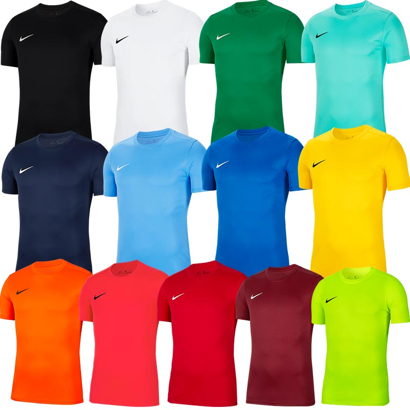 Nike Park VII Short Sleeve Junior Football Shirt