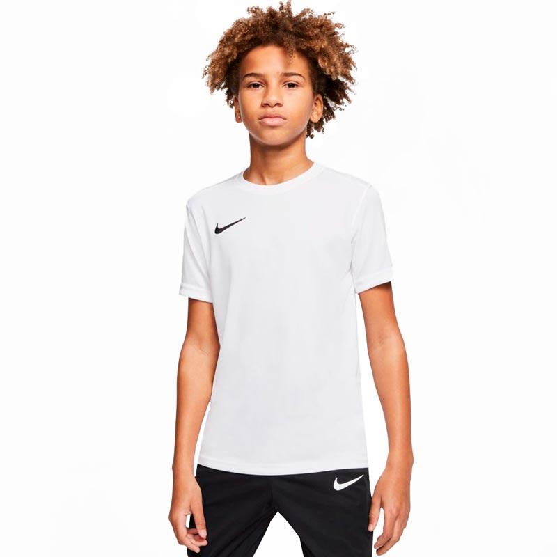Nike Park VII Short Sleeve Junior Football Shirt