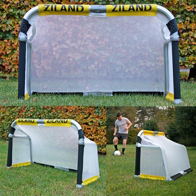 Ziland 4ft x 2.5ft Aluminium Folding Football Goal
