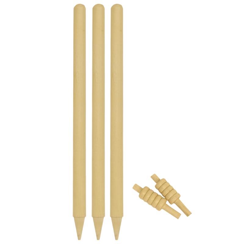Elders Club Wooden Cricket Stumps