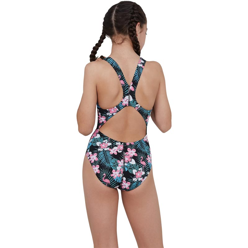Speedo Jungleglow Allover Splashback Swimsuit