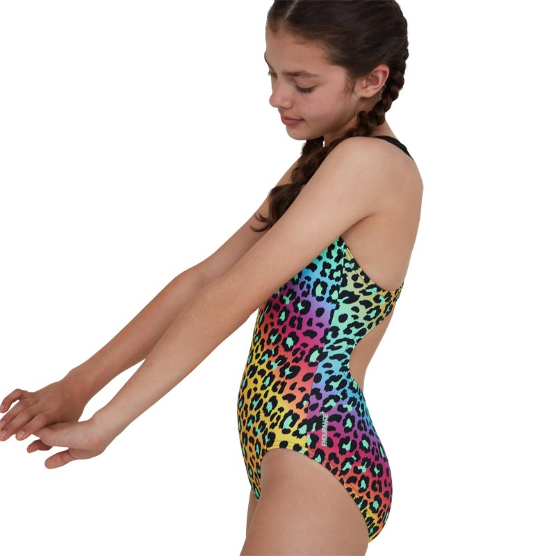 Speedo Jungleglare Allover Splashback Swimsuit