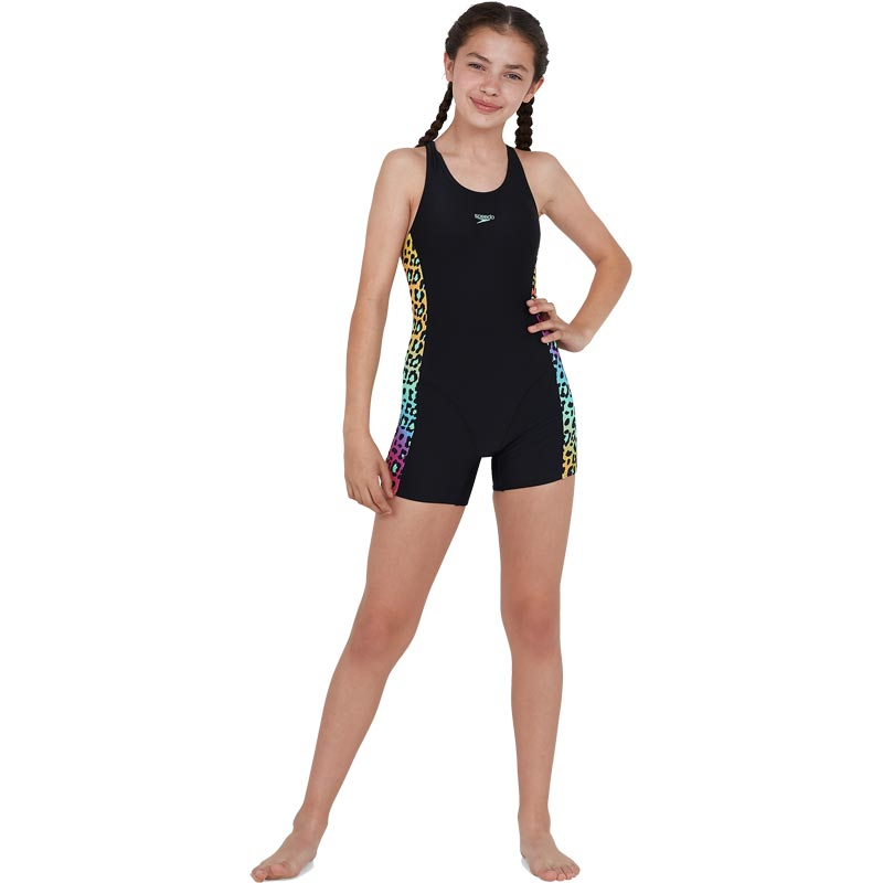 Speedo Jungleglare Allover Panel Leaderback Legsuit