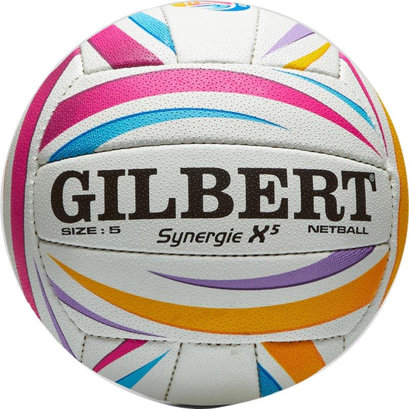 Gilbert Synergie X5 World Cup Match Netball