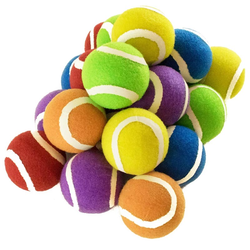 First Play Coloured Tennis Ball 20 Pack