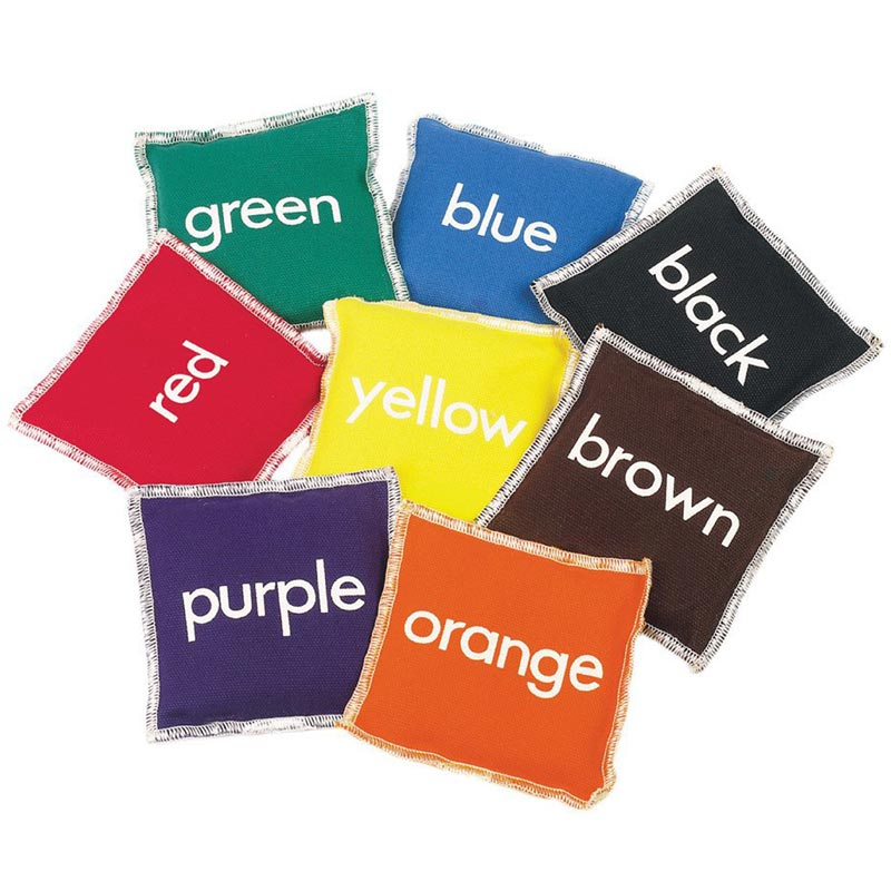 First Play Colour Beanbags