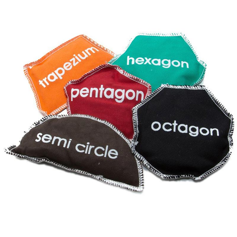 First Play Geo Shape Beanbags