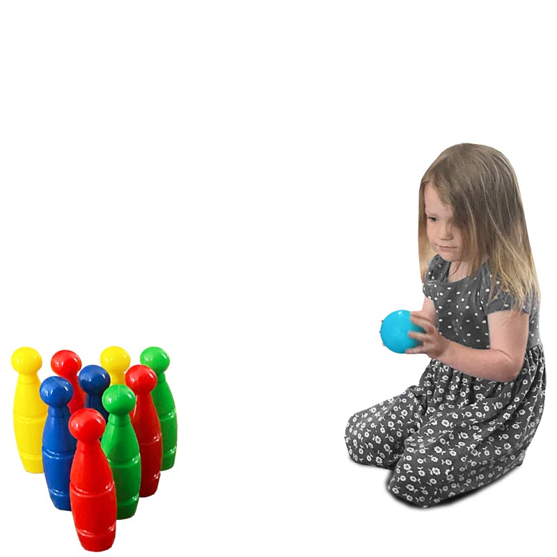 First Play Skittle Set 25cm High
