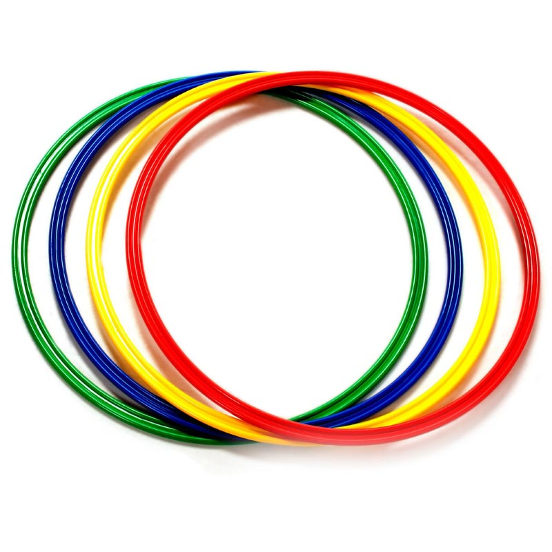 First Play Flat Hoops 4 Pack
