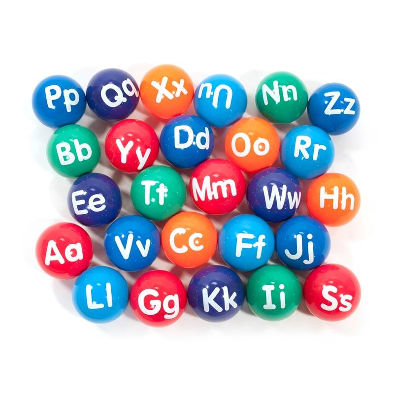 First Play Alphabet Vinyl Playballs