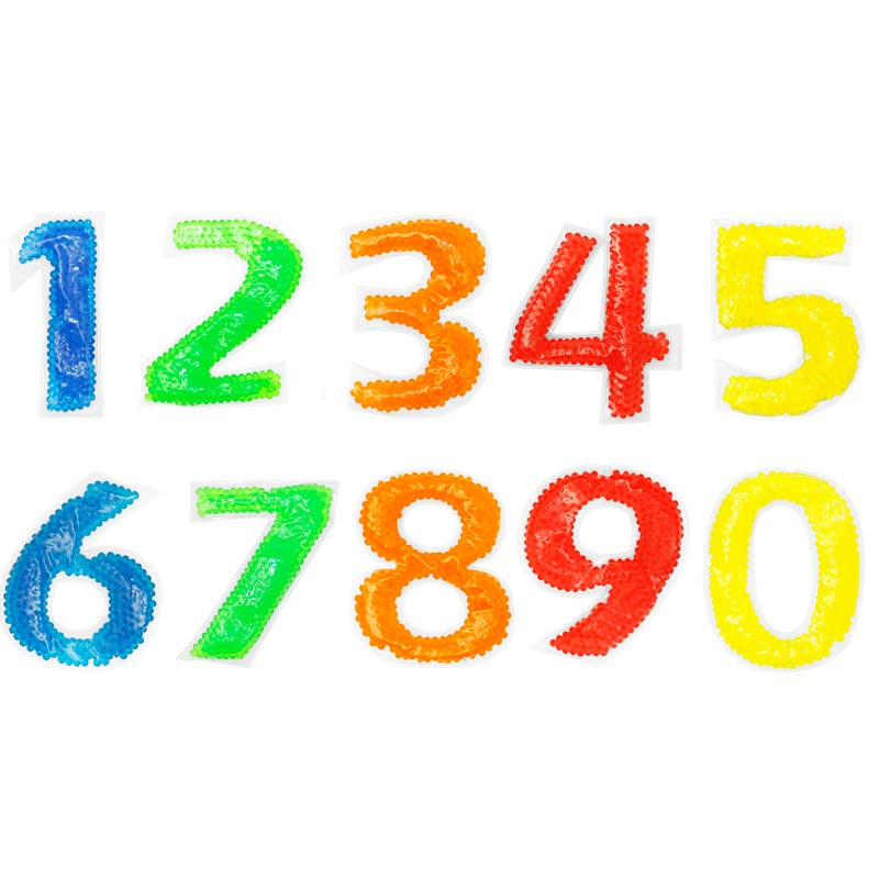 First Play Sensory Tactile Numbers 10 Pack
