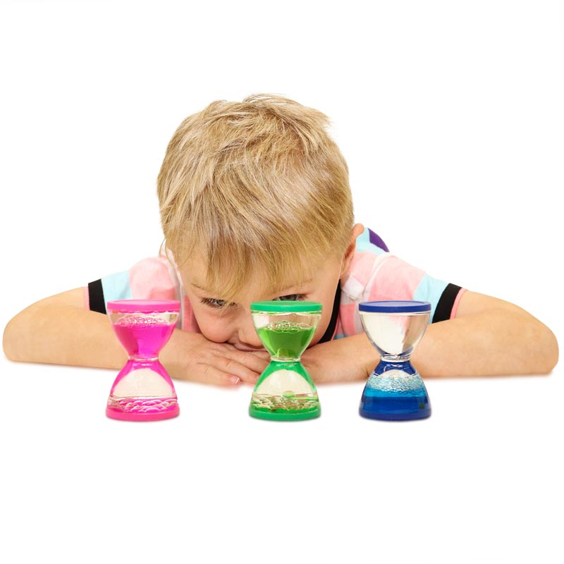 First Play Sensory Liquid Timers 3 Pack