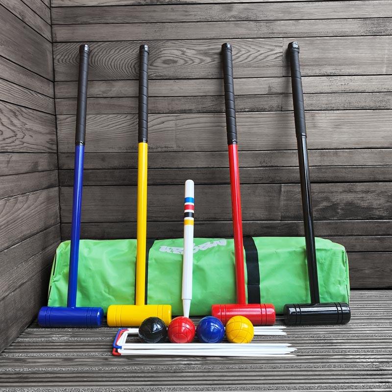 Urban Lawn Croquet Hardwood  Set
