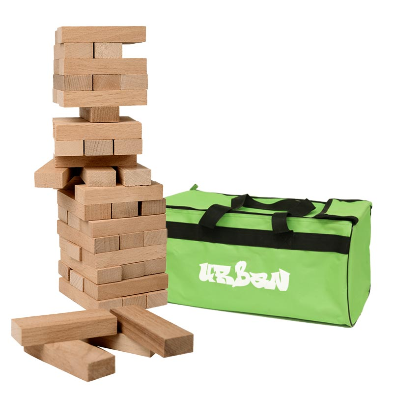 Urban Giant Tumbling Tower Stacking Game