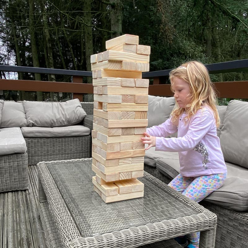 Giant Tumbling Tower 56 Blocks