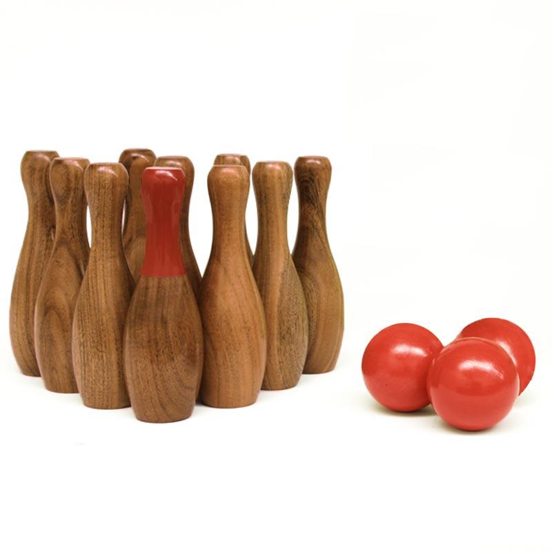 Urban Wooden Skittle Set