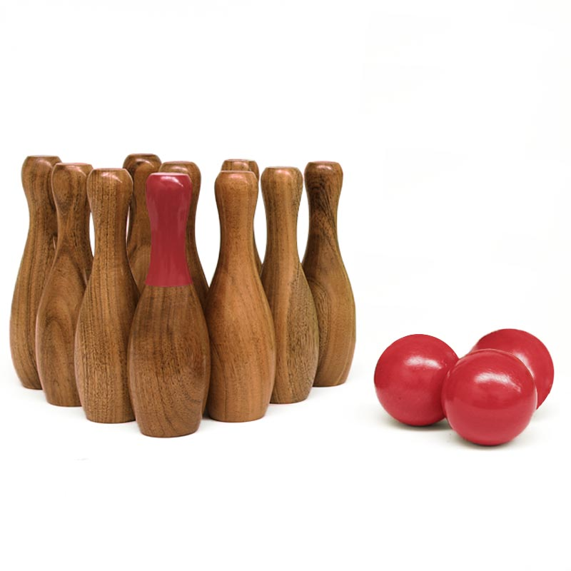 Urban Wooden Skittle Set