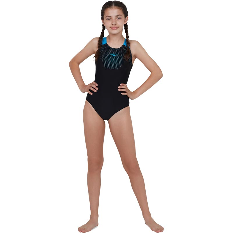 Speedo Endurance 10 Tech Placement Muscleback Swimsuit