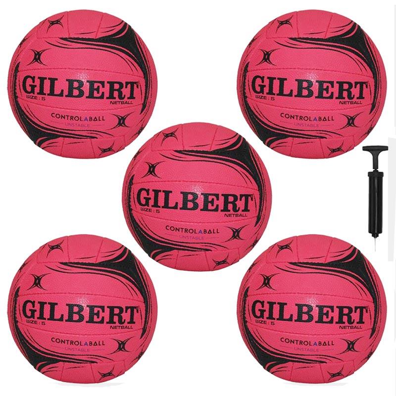 Gilbert Control-A-Ball Training Netball Pack