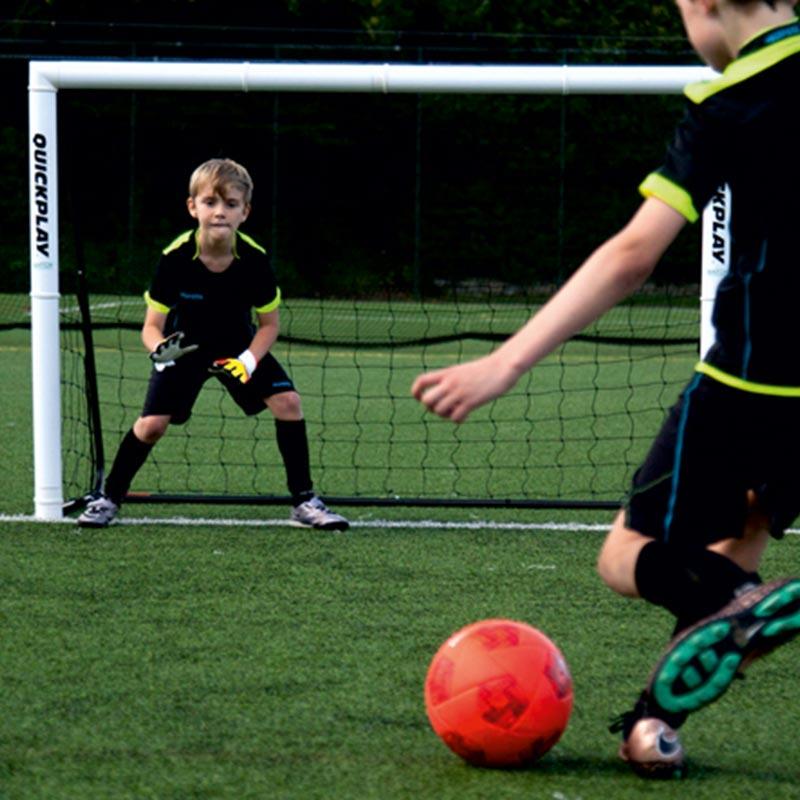 Quickplay 6ft x 4ft Match Fold Football Goal