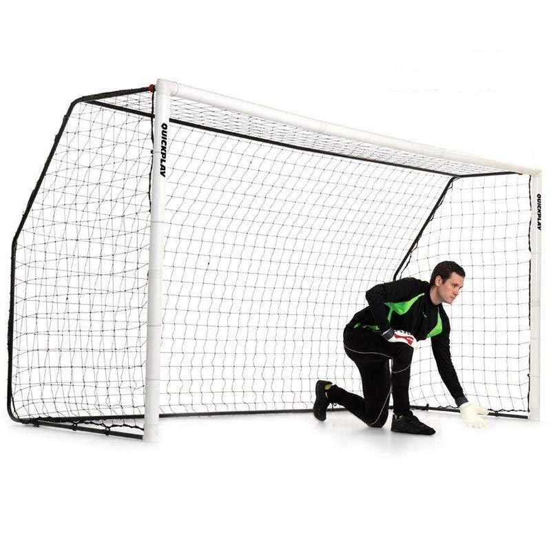 Quickplay 12ft x 6ft  Aluminium Fold Football Goal