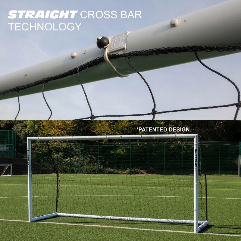 Quickplay 16ft x 7ft Match Fold Football Goal