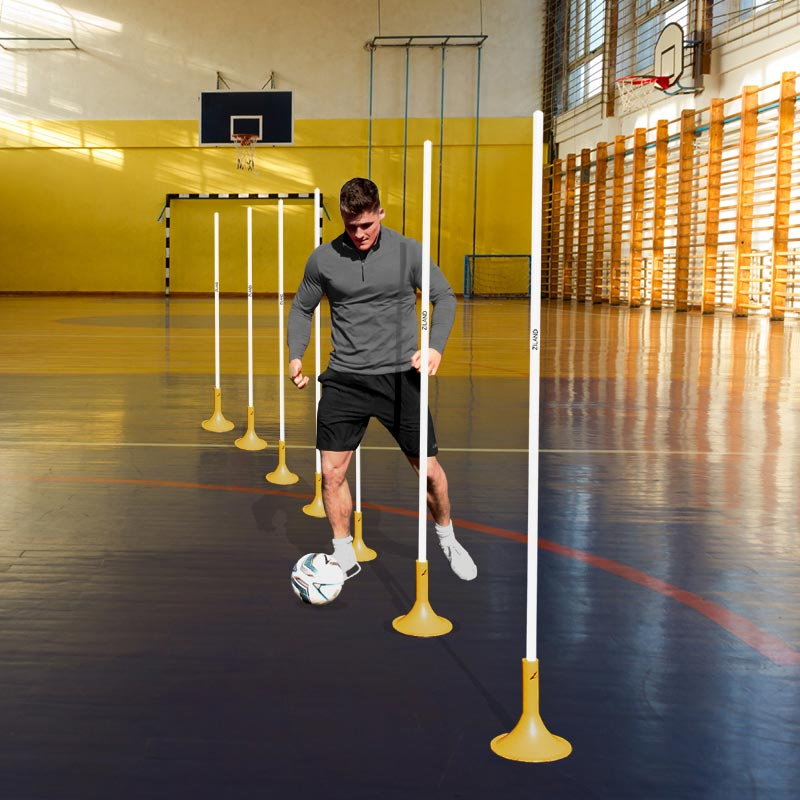 Ziland Slalom Pole Indoor Set