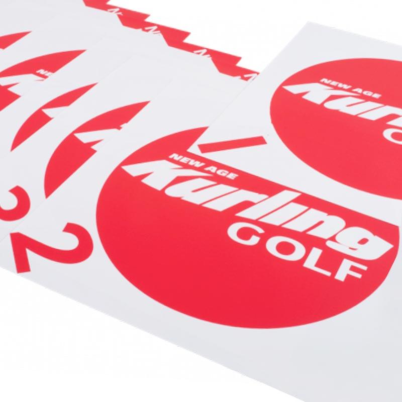 New Age Kurling Golf Targets