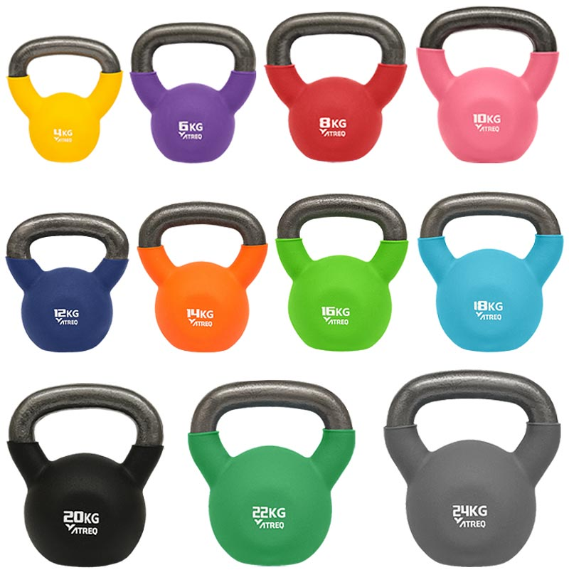 ATREQ Neoprene Covered Kettlebells