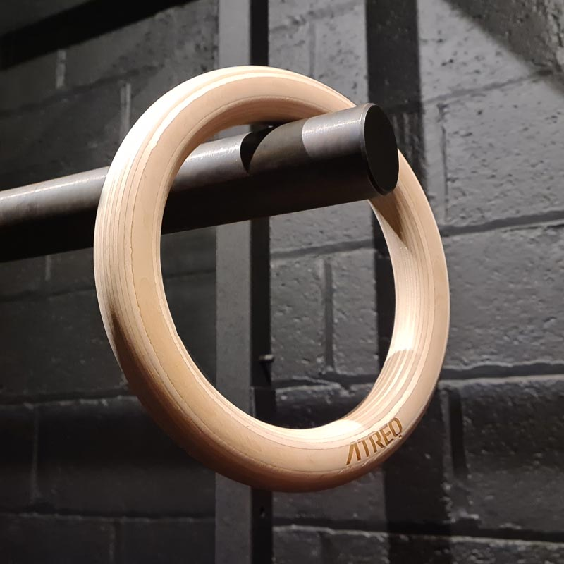 ATREQ Wooden Gym Rings
