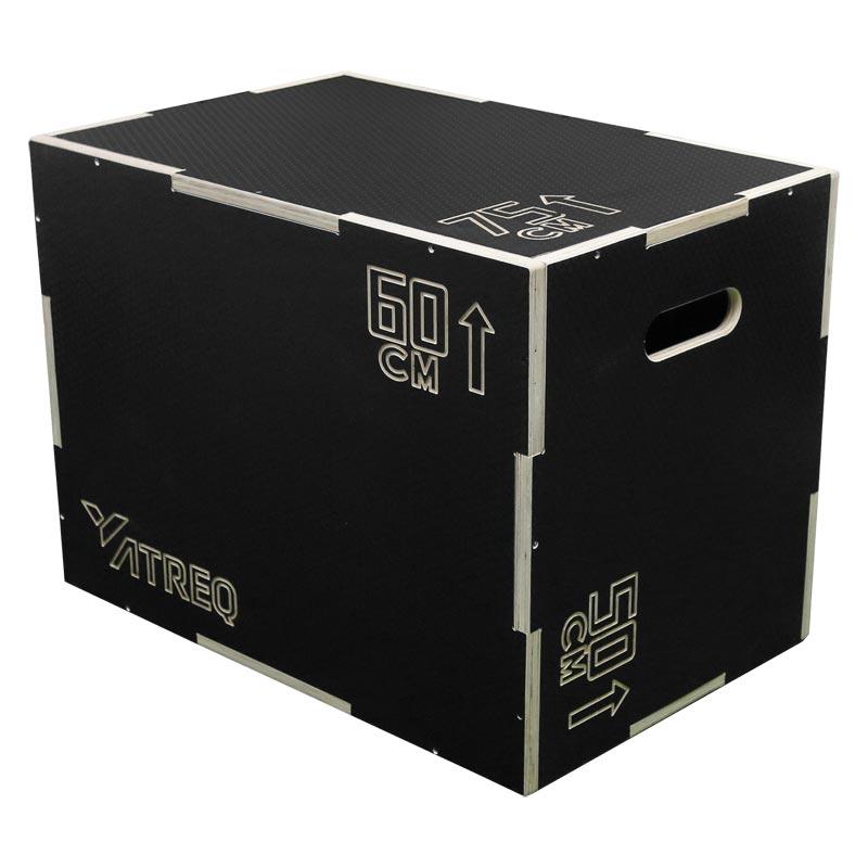 ATREQ 3 In 1 Anti Slip Wooden Plyo Box