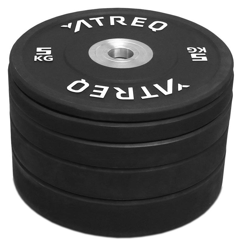 ATREQ Elite Olympic Rubber Bumper Plate