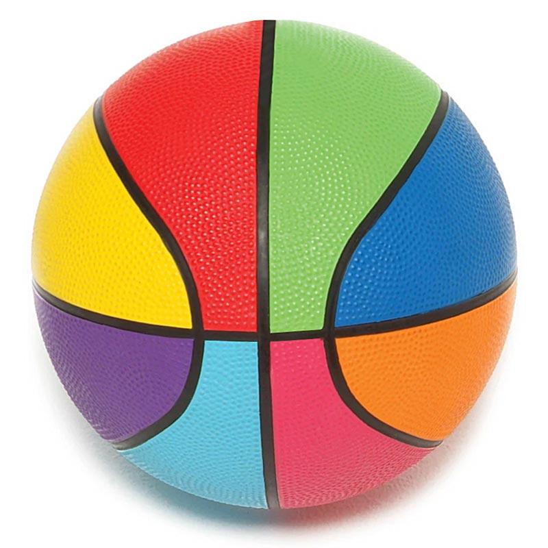 First Play Mini Rainbow Basketball