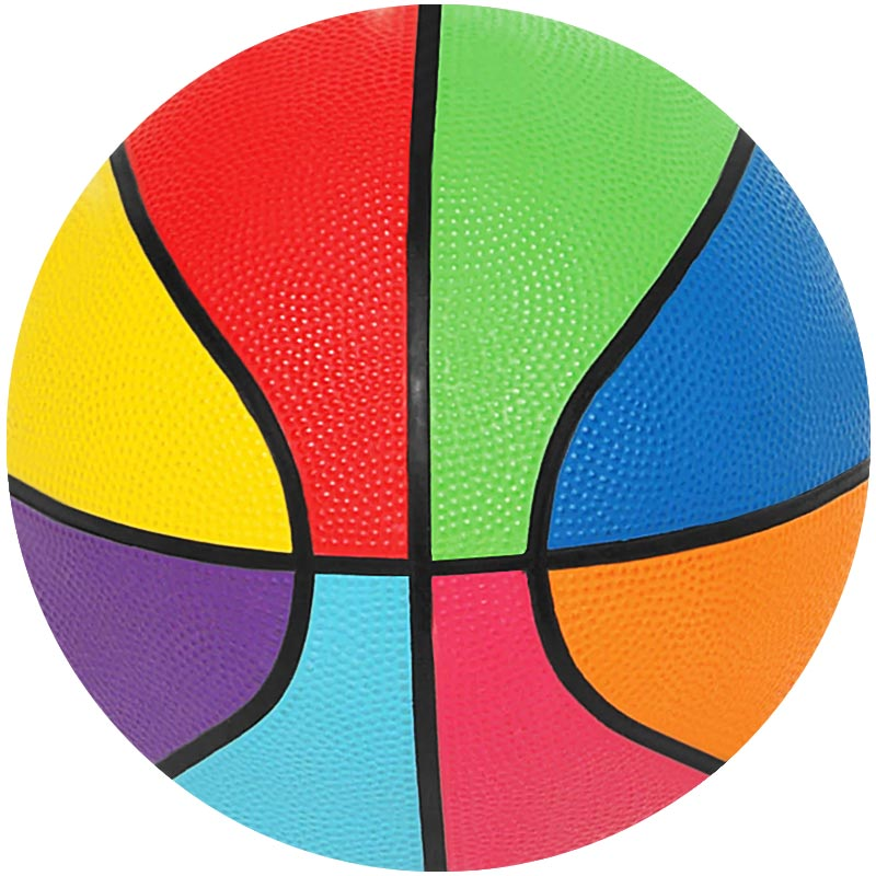 First Play Mini Rainbow Basketball