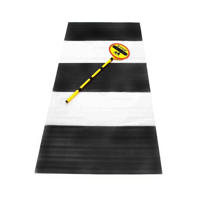 First Play Zebra Road Crossing Set