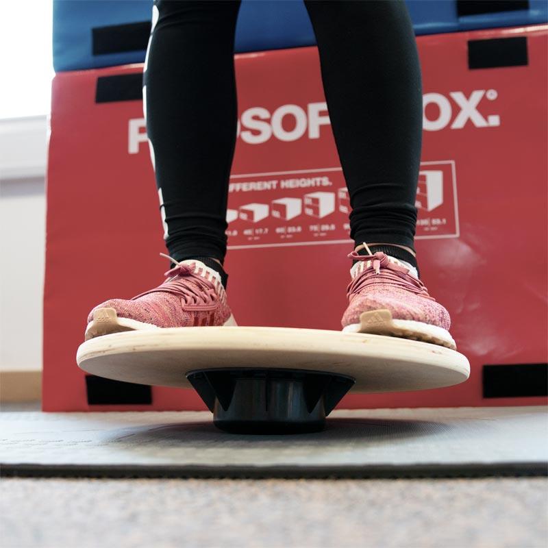 ATREQ Wooden Non Slip Balance Board