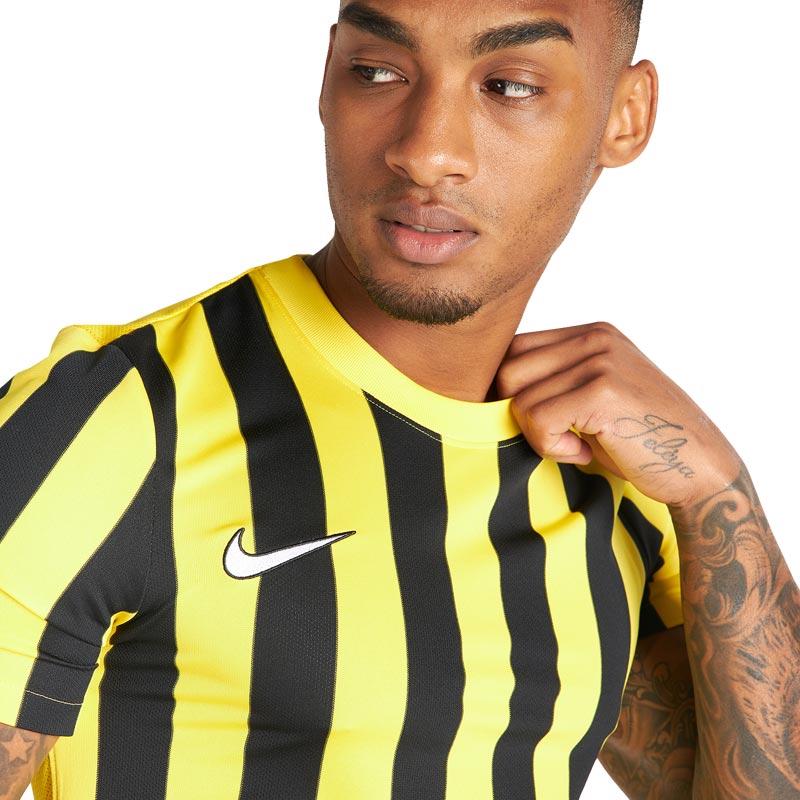 Nike Striped Division IV Jersey Short Sleeve Senior Football Shirt