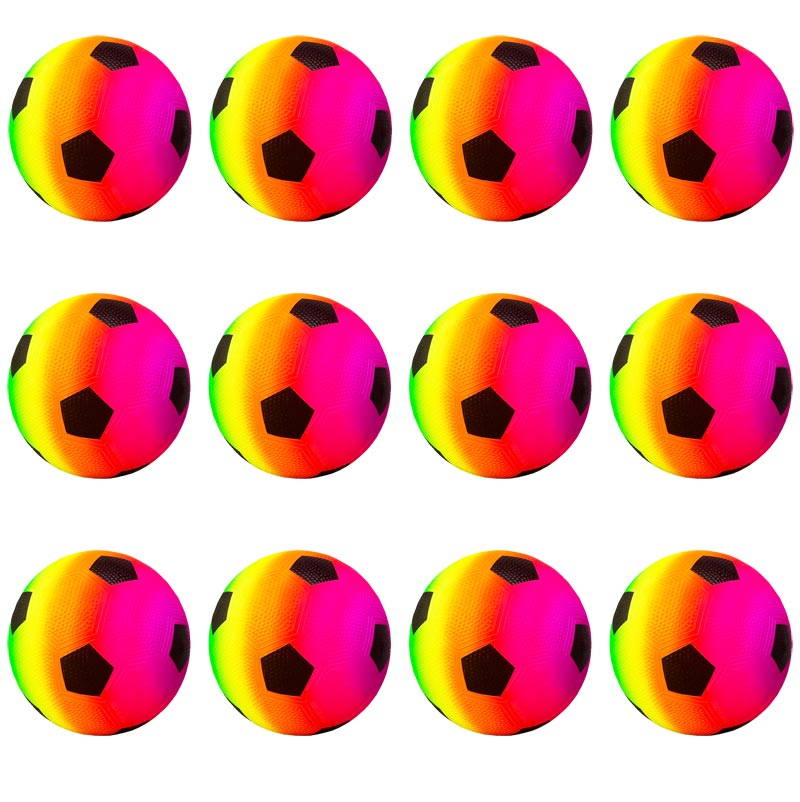 Urban Rainbow Neon Football