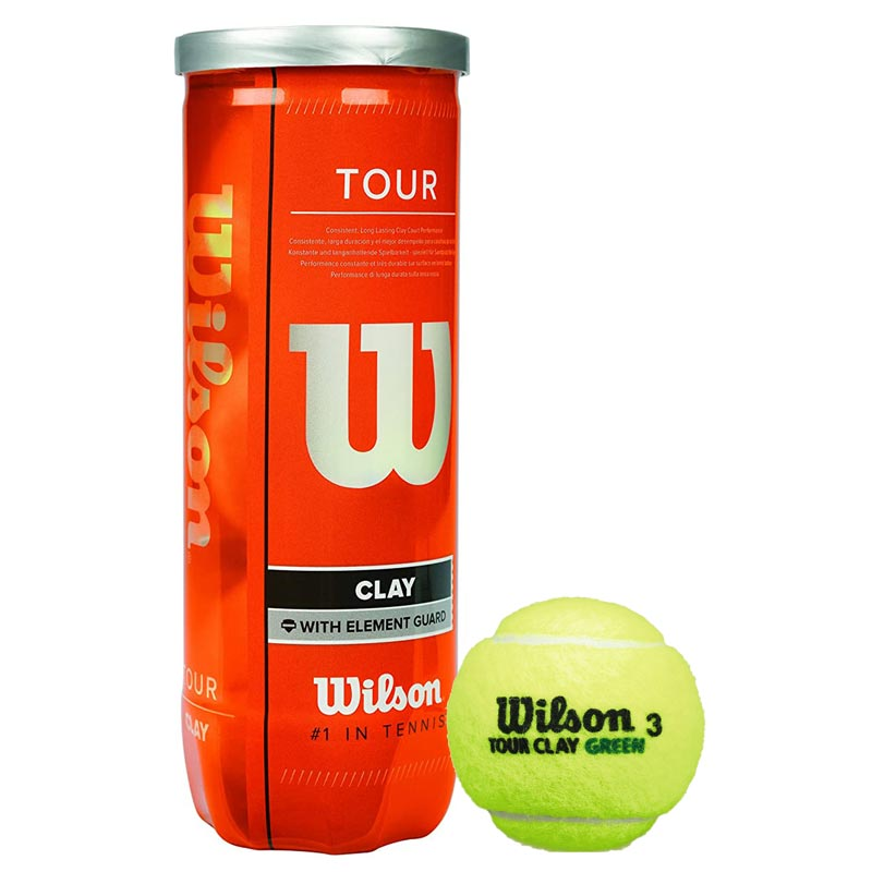 Wilson Tour Clay Tennis Balls