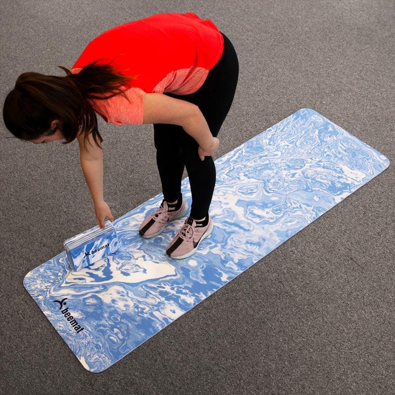 Beemat Deluxe Yoga Mat Set