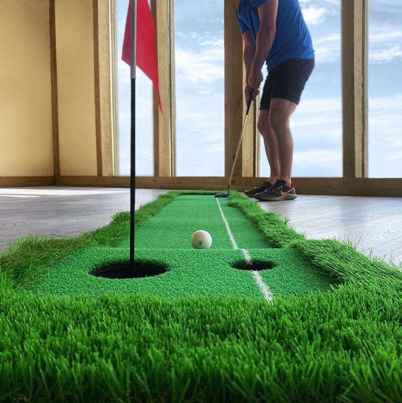 Urban Artificial Grass Golf Putting Mat 3m x 0.5m