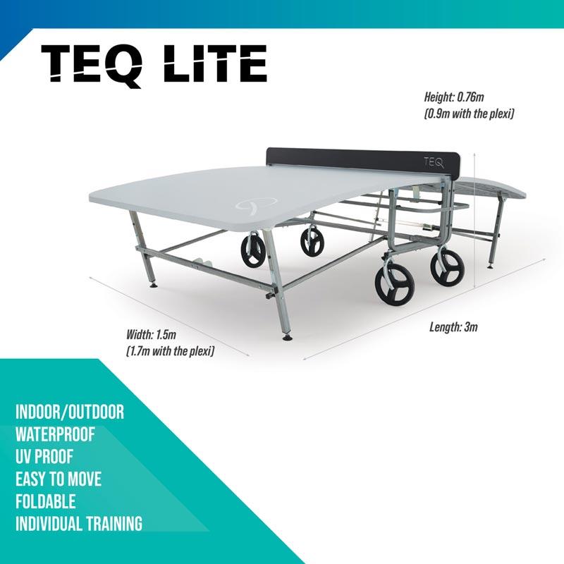 Teq Lite Teqball Table