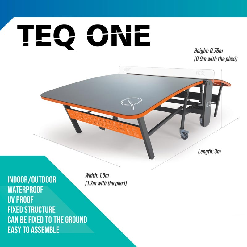 Teq One Teqball Table