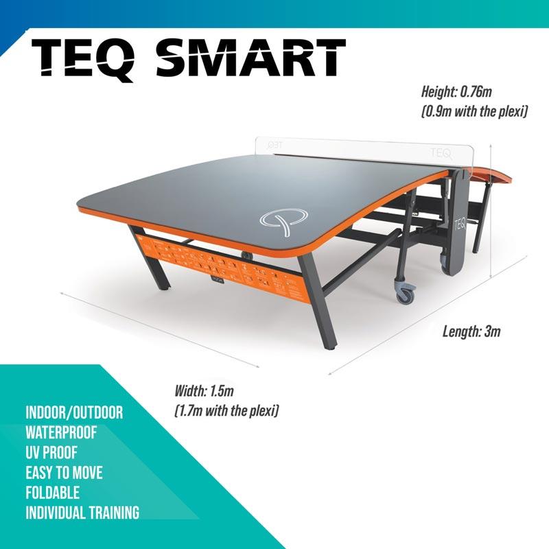 Teq Smart Teqball Table