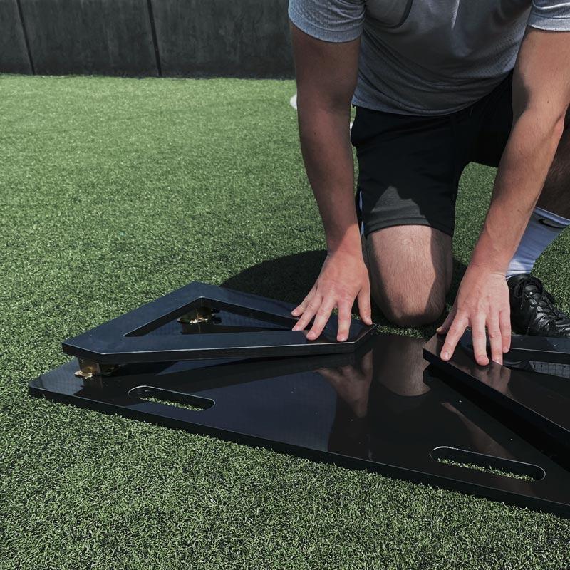 Ziland Football Rebound Board 100cm x 40cm